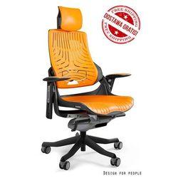 Fotel ergonomiczny czarny WAU Elastomer - Mango - ZŁAP RABAT: KOD150