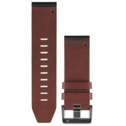 Garmin fenix 5x/3 Skórzana bransoletka QuickFit 26mm, brown 2020 Akcesoria do zegarków