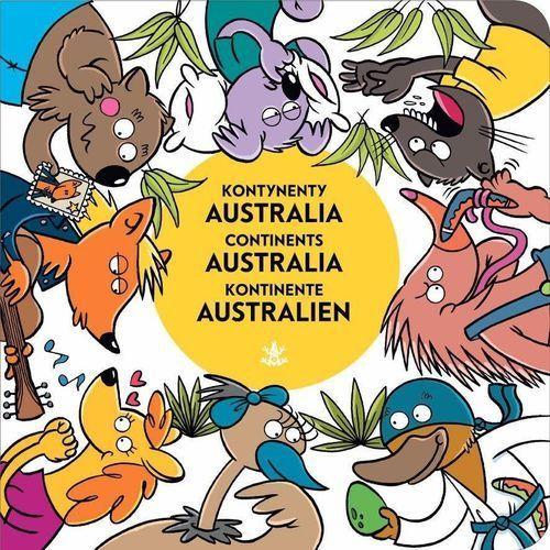 Książki dla dzieci, Kontynenty Australia (opr. kartonowa)