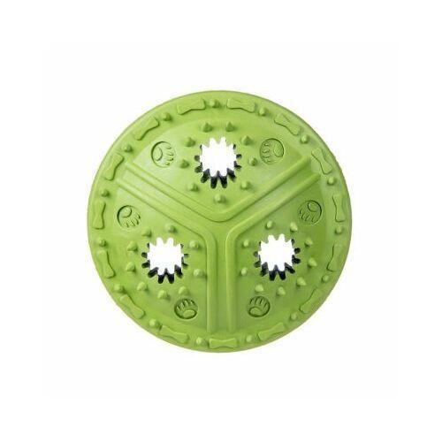 Pozostałe zabawki, Dysk kauczukowy na przysmaki - green