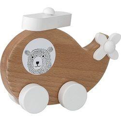 Zabawka samolot kha toy z drewna