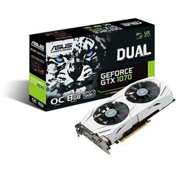 Asus GeForce GTX 1070 DUAL 8GB DDR5 256BIT DVI/HDMI/DP OVERCLOCK