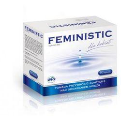 Feministic, 60 kapsułek - Długi termin ważności! DARMOWA DOSTAWA od 39,99zł do 2kg!