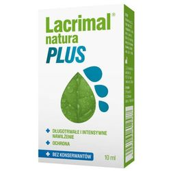 Lacrimal Natura Plus krople do oczu 10ml