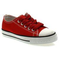 Buty sportowe dla dzieci, Trampki dla dzieci Axim 2952 Czerwone
