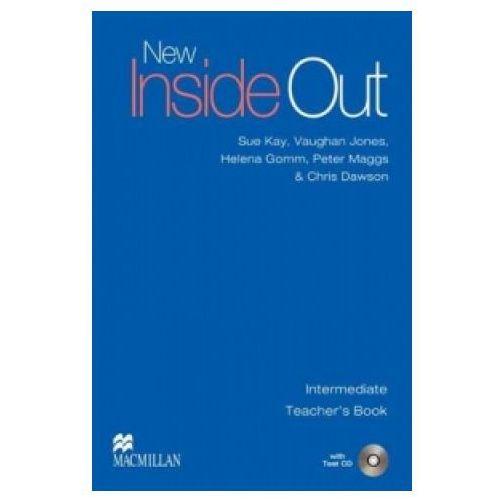 Książki do nauki języka, New Inside Out Intermediate. Książka Nauczyciela + Test CD (opr. miękka)