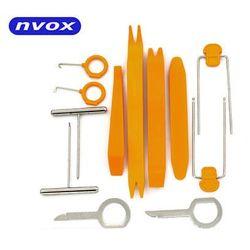 NVOX AP120SP Zestaw narzędzi i kluczy do montażu i demontażu radia i elementów plastikowych, tapicerki 12 elementów