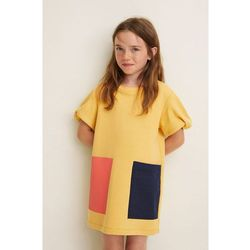 Mango Kids - Sukienka dziecięca Cossi 116-152 cm