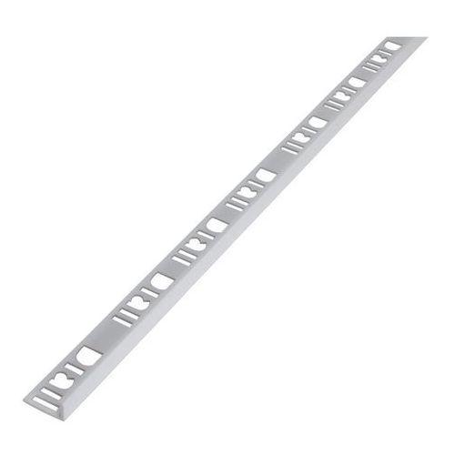 Akcesoria do płytek, Profil PCV narożny Diall 8 mm typ L biały 2,5 m