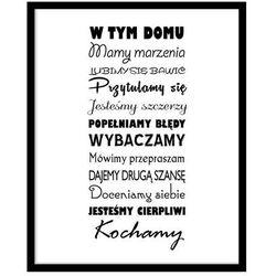 Obraz Napisy Druga Szansa 40 x 50 cm