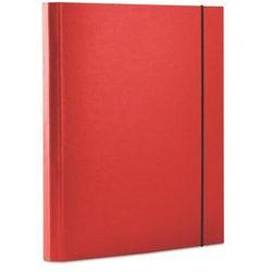 Teczka z gumką DONAU, PP, A4/30, 3-skrz., czerwona