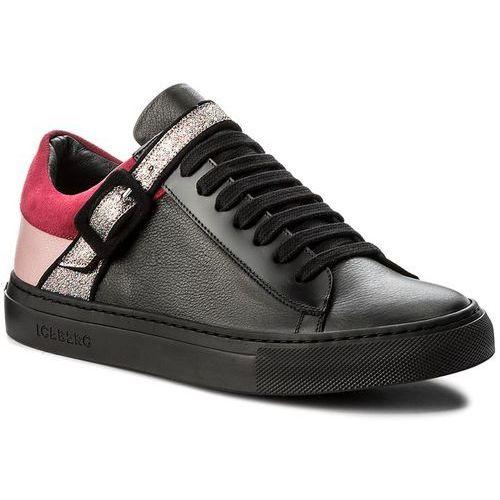 Półbuty damskie, Sneakersy ICEBERG - Ginger 17I ID1060A Nero