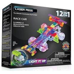 Klocki laser pegs 12 w 1 Race car