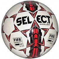Piłka nożna, Piłka nożna Select Excellent 5 FIFA 2016 biało-czerwony