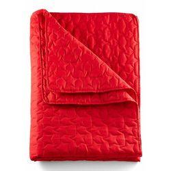 Narzuta na łóżko w gwiazdy bonprix czerwony