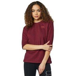 bluza FOX - Heater 3/4 Crew Fleece Cranberry (527) rozmiar: XS