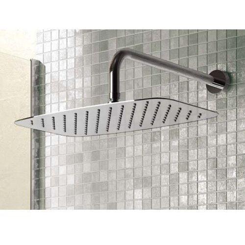 """idealrain luxe deszczownia prostokątna 400x250mm, grubość 4mm, przyłącze 1/2"""" inox b0391my marki Ideal standard"""