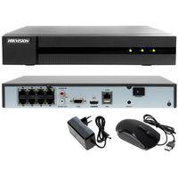 Rejestratory przemysłowe, Rejestrator cyfrowy sieciowy IP HWN-4108MH-8P Hikvision Hiwatch