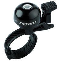 Dzwonki rowerowe, 610-06-981_ACC Dzwonek Accent Ding czarny