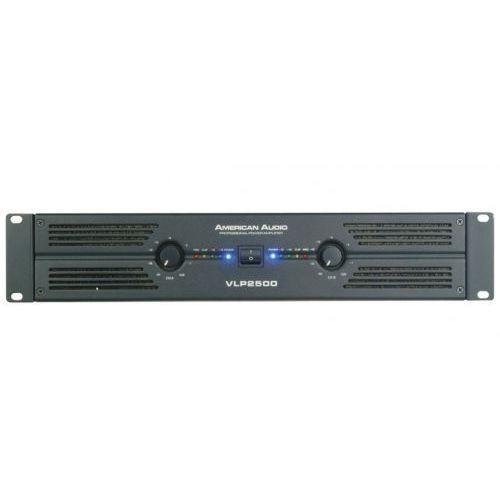 Wzmacniacze studyjne, American Audio VLP 2500 wzmacniacz mocy 2x1100W/4 Płacąc przelewem przesyłka gratis!