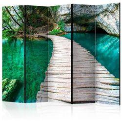 Parawan 5-częściowy - park narodowy, jeziora plitwickie, chorwacja ii [room dividers]