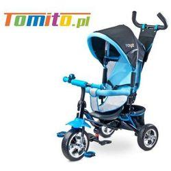 Caretero Rowerek 3-kołowy Timmy niebieski