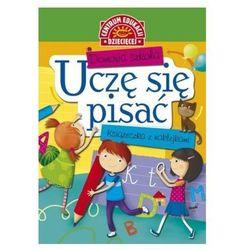 Domowa szkoła. Uczę się pisać. Książeczka z naklejkami Anna Uhlik