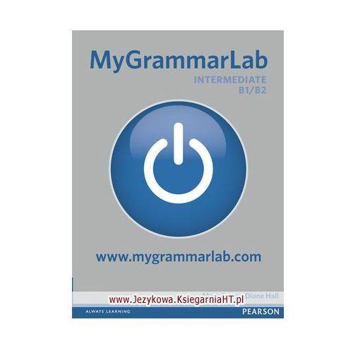 Książki do nauki języka, MyGrammarLab Intermediate, Student&#39s Book (podręcznik) plus MyLab for classroom use (opr. miękka)