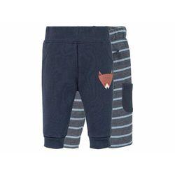 LUPILU® Spodnie dresowe niemowlęce z biobawełną,