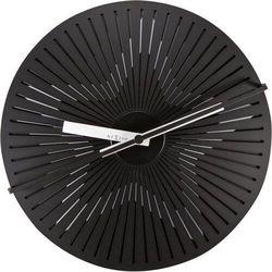 NeXtime - Zegar ścienny Kinegram Star - czarny