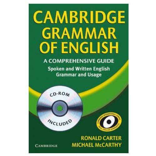 Książki do nauki języka, Cambridge Grammar of English with CD-ROM, Paperback (opr. miękka)