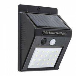 OSTRAVA LED 2W IP65 bateria solarna, czujnik ruchu 4000K Naświetlacz
