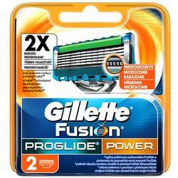 GILLETTE 2szt Fusion Pro Glide Power Wkłady do maszynki do golenia