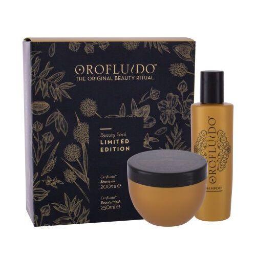 Mycie włosów, Orofluido Beauty Elixir zestaw Szampon 200 ml + maska do włosów 250 ml dla kobiet