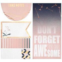 Karteczki samoprzylepne Don't forget to be awesome