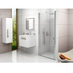 Ravak Chrome drzwi prysznicowe CSD1-80, wys. 195 cm, Polerowane aluminium+Transparent 0QV40C00Z1