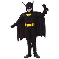 Kostium Batman z mięśniami - S - 110/120 cm