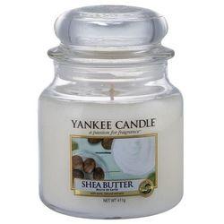 Yankee Candle Shea Butter aromatyczna świeca zapachowa słoik średni 411 g