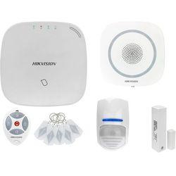 ZA12658 Bezprzewodowy system alarmowy GSM 4G 1 czujki ruchu HIKVISION z sygnalizatorem i pilotem