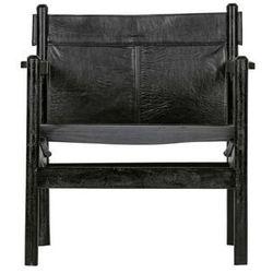 Be Pure Fotel Chill skórzany czarny 800952-Z