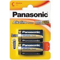 Baterie, 2 x Panasonic Alkaline Power LR14 / C (blister)