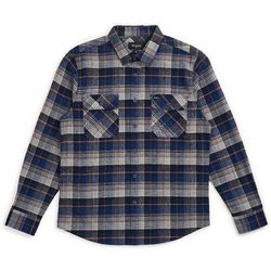 koszula BRIXTON - Bowery L/S Flannel Blue Night (BLUNI) rozmiar: XL