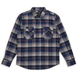 koszula BRIXTON - Bowery L/S Flannel Blue Night (BLUNI)