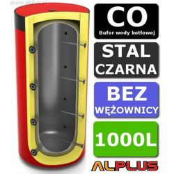 Bufor LEMET 1000L Bez Wężownicy do CO - Zbiornik Buforowy Zasobnik Akumulacyjny 1000 litrów - Wysyłka Gratis