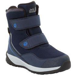 Buty zimowe dla dzieci POLAR BEAR TEXAPORE HIGH VC K dark blue / light grey - 27