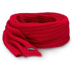 Zimowy szalik damski PaMaMi - Czerwony - Czerwony