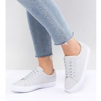 Damskie obuwie sportowe, ASOS DESIGN Wide Fit Devlin lace up trainers - Grey