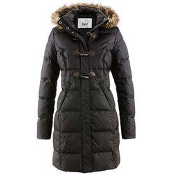 Płaszcz pikowany (lekki puch) bonprix czarny