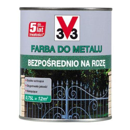 Farby, Farba do metalu V33 bezpośrednio na rdzę matowy szaro-zielony 0,25 l