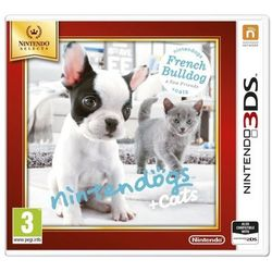 Gra Nintendo Nintendogs + Cats French Bull & new Friends Select 3DS 2DS